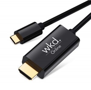 USB C to HDMI adapter cable by WKD Online